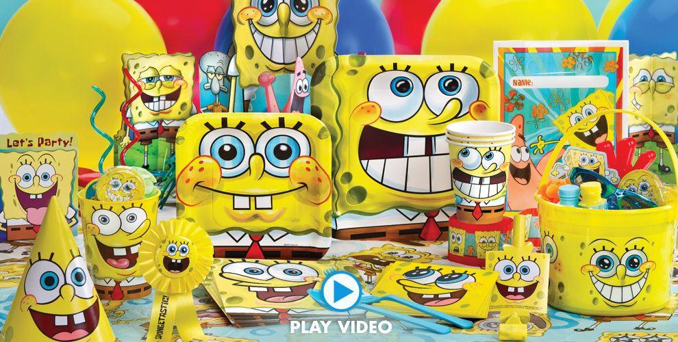 Best ideas about Spongebob Birthday Decorations . Save or Pin SpongeBob Party Supplies SpongeBob Birthday Ideas Now.
