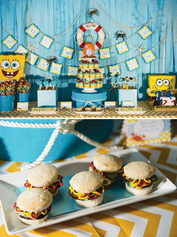 Best ideas about Spongebob Birthday Decorations . Save or Pin Fantastic Spongebob Squarepants Birthday Party Hostess Now.