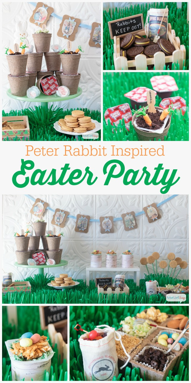 Best ideas about Spring Party Ideas For Adults . Save or Pin Peter Rabbit Easter Party Is Full of Sweet Garden Themed Now.