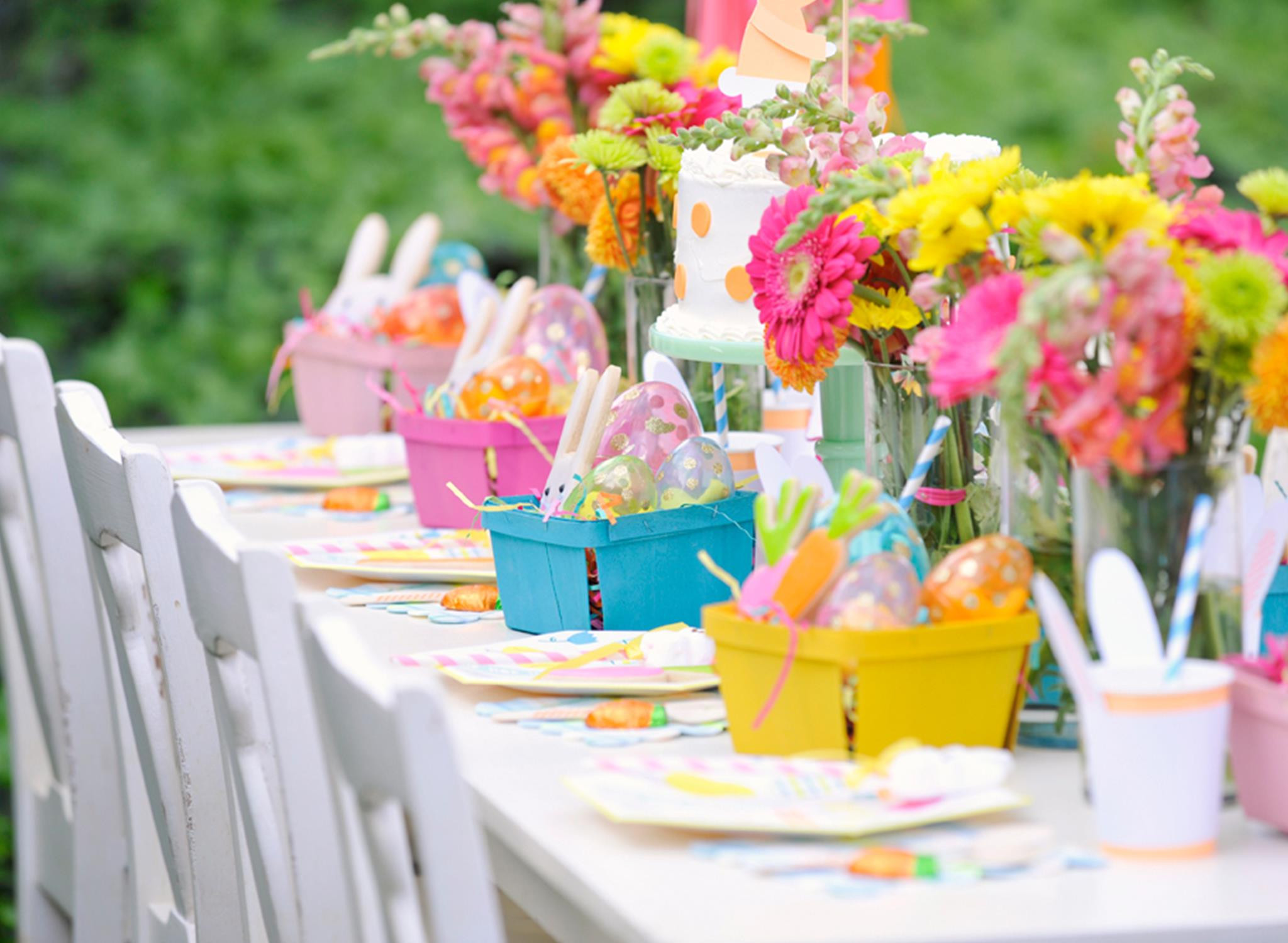 Best ideas about Spring Party Ideas For Adults . Save or Pin Plan a Bunny tastic Kids Easter Party Project Nursery Now.