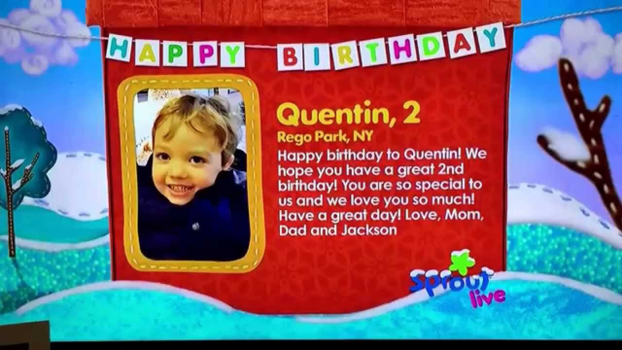 Best ideas about Sprout Birthday Wishes . Save or Pin Sprout Birthday Wishes for Quentin Now.