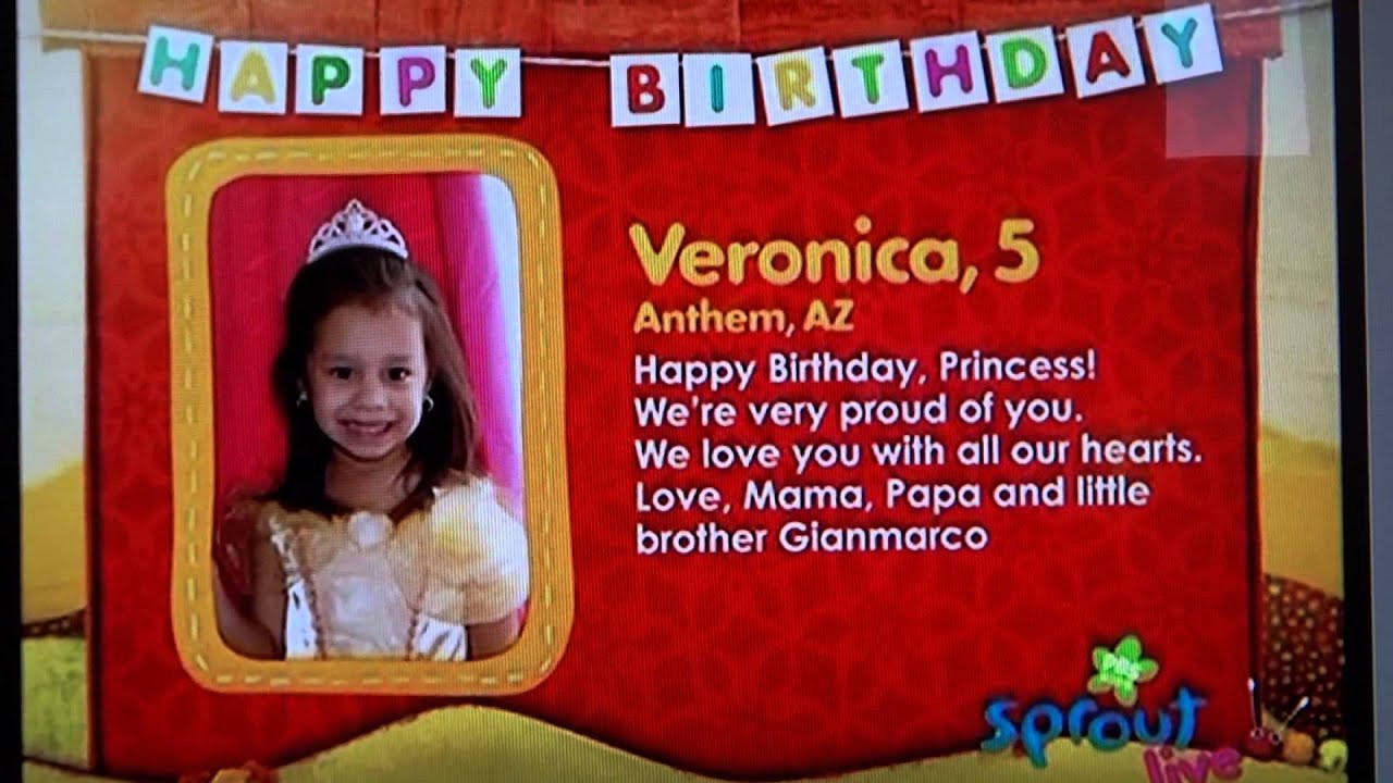 Best ideas about Sprout Birthday Wishes . Save or Pin Veronica s birthday on Sprout Now.
