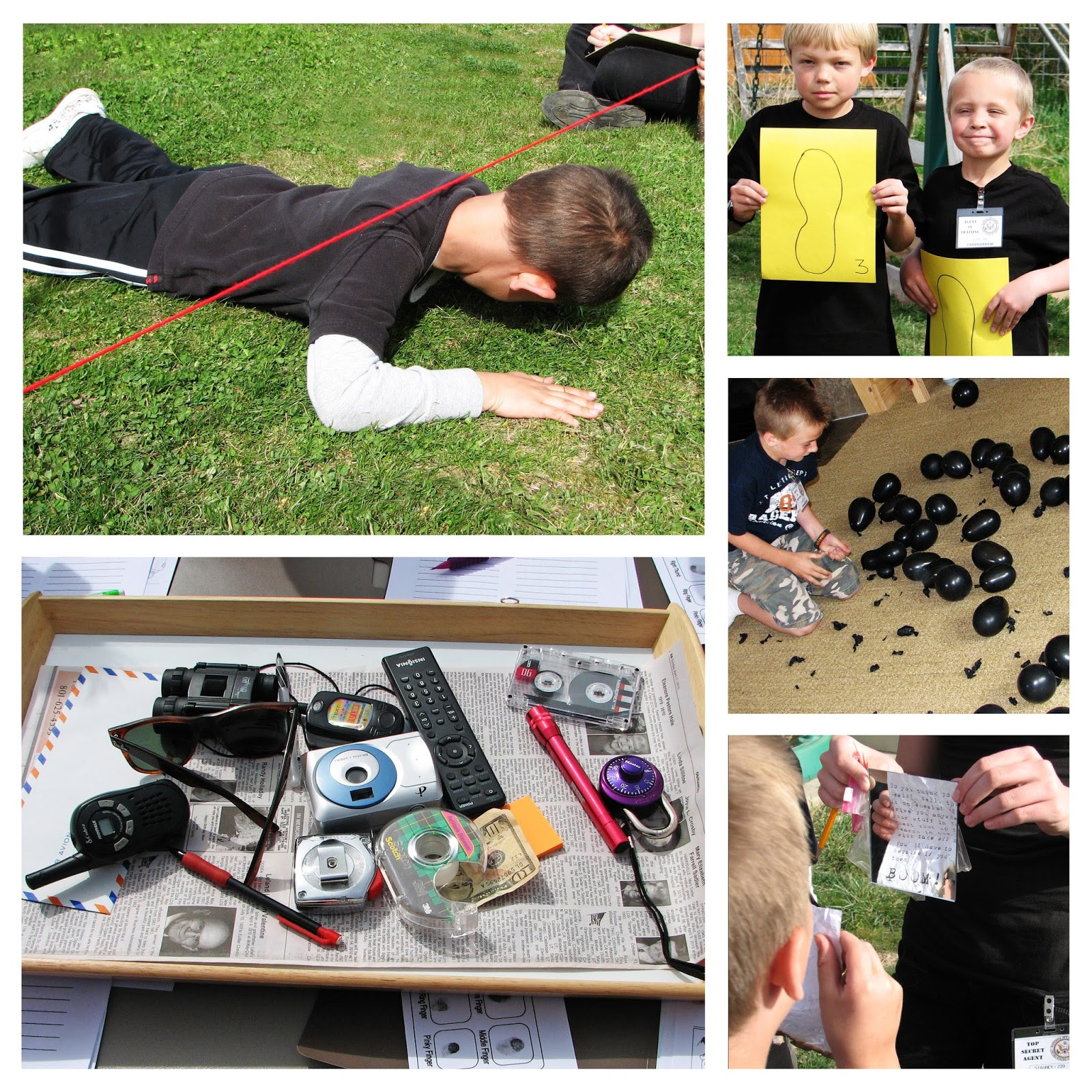 Best ideas about Spy Birthday Party . Save or Pin Birthday Blueprint Spy Party Now.