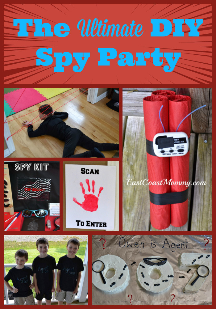 Best ideas about Spy Birthday Party . Save or Pin East Coast Mommy Party Planning DIY parties decor Now.