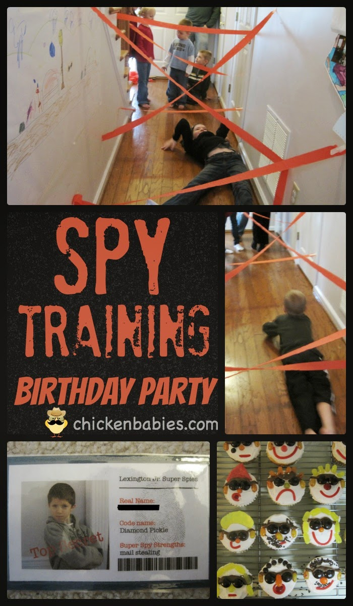 Best ideas about Spy Birthday Party . Save or Pin chicken babies Super Spy Training Birthday Party Now.
