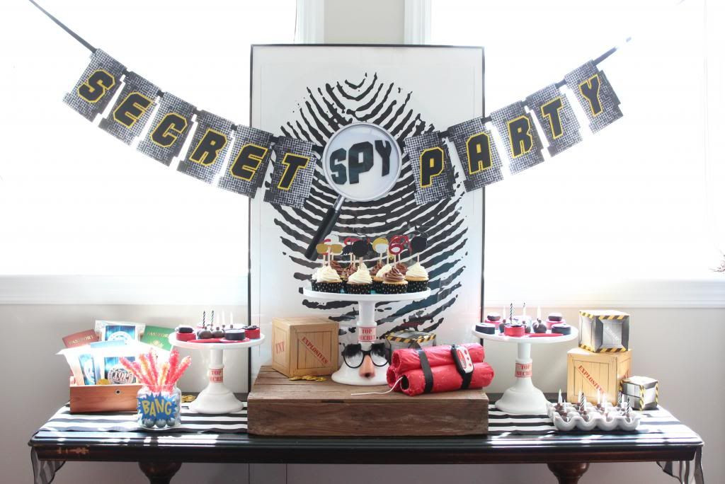 Best ideas about Spy Birthday Party . Save or Pin Craft That Party SPY Birthday Party Now.
