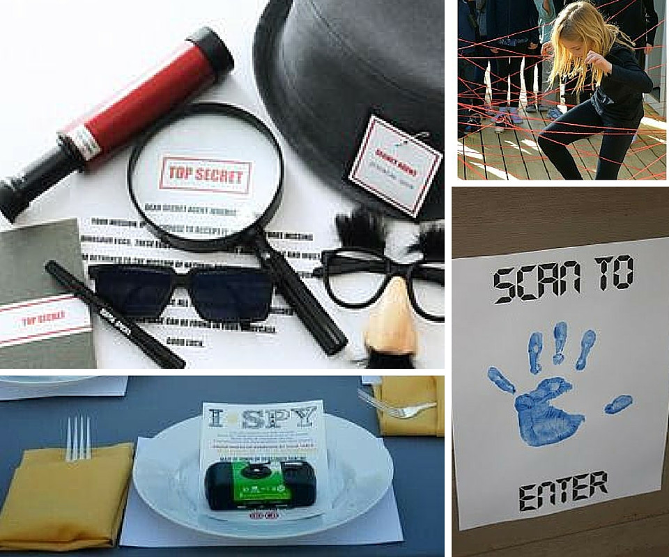 Best ideas about Spy Birthday Party . Save or Pin Spy Party Ideas Now.