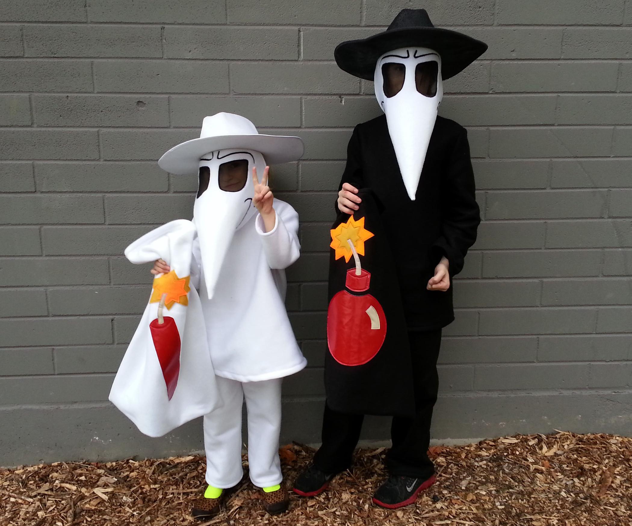 Best ideas about Spy Costume DIY . Save or Pin Spy vs Spy Now.