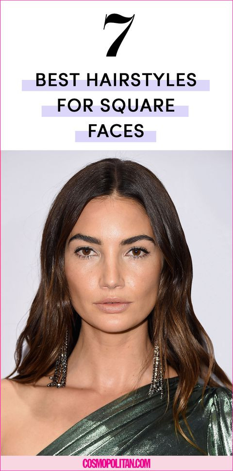 Best ideas about Square Face Haircuts Female . Save or Pin The 7 Best Hairstyles for Square Face Shapes Now.
