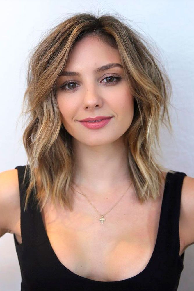 Best ideas about Square Face Haircuts Female . Save or Pin The Most Flattering 12 Haircuts for Square Faces Now.