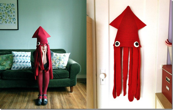 Best ideas about Squid Costume DIY . Save or Pin Homemade squid costume ideas Costume pictures Now.