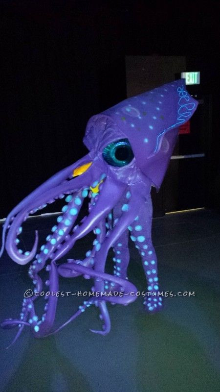 Best ideas about Squid Costume DIY . Save or Pin Homemade Amazing Giant Squid Costume Now.