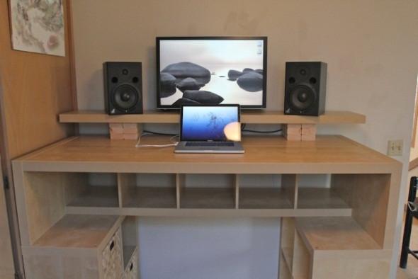 Best ideas about Standing Desk Converter DIY . Save or Pin 21 DIY Standing or Stand Up Desk Ideas Now.