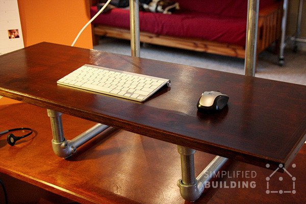 Best ideas about Standing Desk Converter DIY . Save or Pin DIY Standing Desk Converter Step by Step Plans Now.