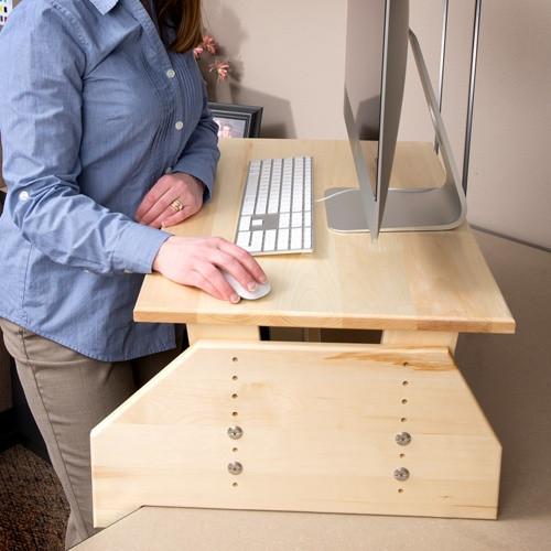 Best ideas about Standing Desk Converter DIY . Save or Pin 17 Best images about stand up desk ideas on Pinterest Now.