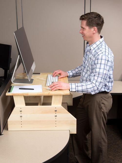 Best ideas about Standing Desk Converter DIY . Save or Pin 25 great ideas about Standing desks on Pinterest Now.