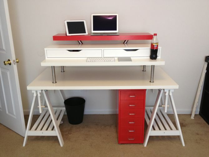 Best ideas about Standing Desk Converter DIY . Save or Pin 3 ways to convert any desk into a standing desk CNET Now.