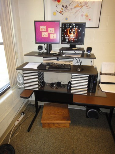 Best ideas about Standing Desks DIY . Save or Pin Standing Desk Guide Measurements Examples and Benefits Now.