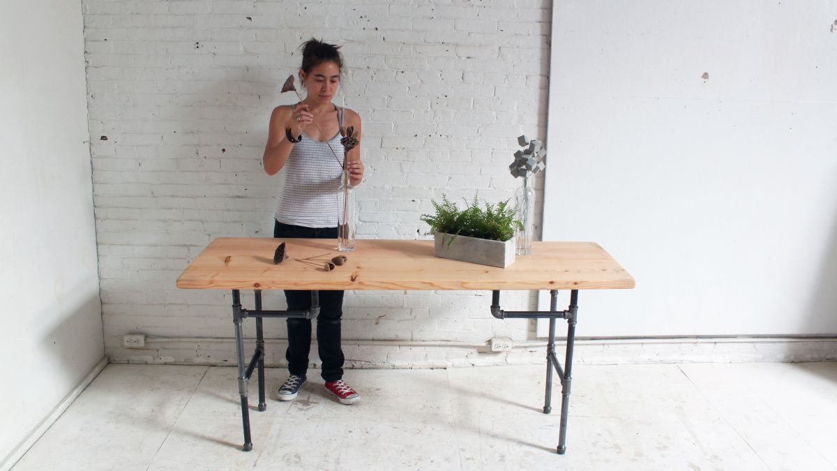 Best ideas about Standing Desks DIY . Save or Pin DIY Plumbers Pipe Standing Desk Now.