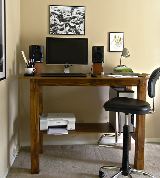 Best ideas about Standing Desks DIY . Save or Pin Your Backbone Will Thank You 6 Great Standing Desk Designs Now.