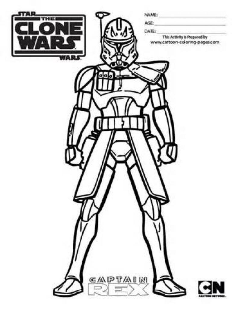Best ideas about Star Wars Clone Wars Coloring Pages . Save or Pin Star Wars Clone Trooper Coloring Pages Annexhub pertaining Now.