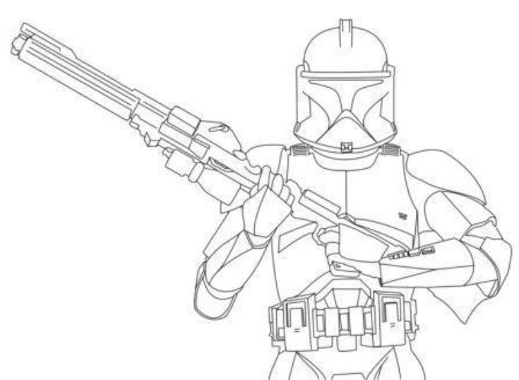 Best ideas about Star Wars Clone Wars Coloring Pages . Save or Pin Star Wars Clone Wars Drawing at GetDrawings Now.