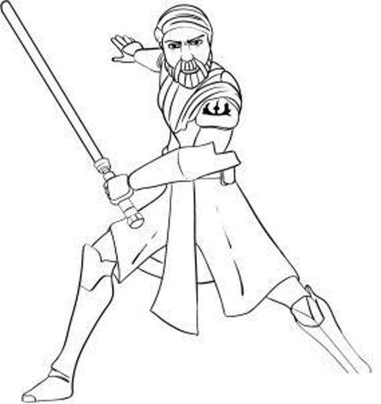 Best ideas about Star Wars Clone Wars Coloring Pages . Save or Pin Star Wars The Clone Wars Coloring Pages Printable Now.