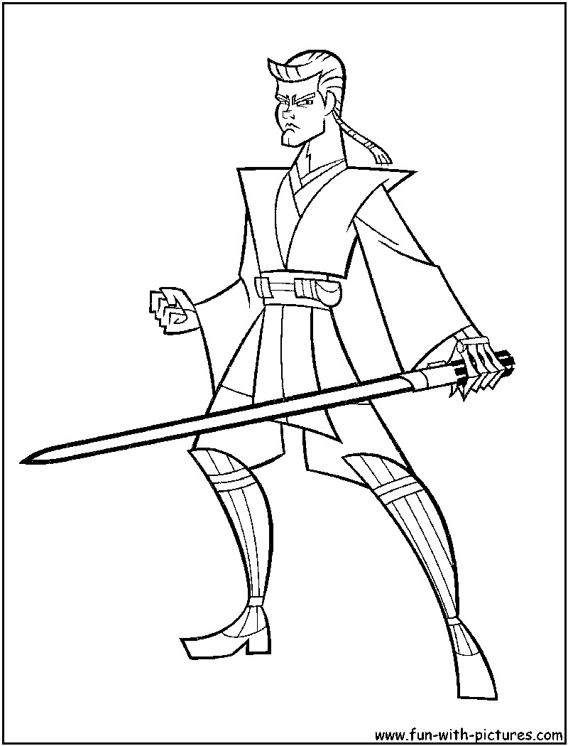 Best ideas about Star Wars Clone Wars Coloring Pages . Save or Pin Star Wars Lightsaber Coloring Pages Coloring Home Now.