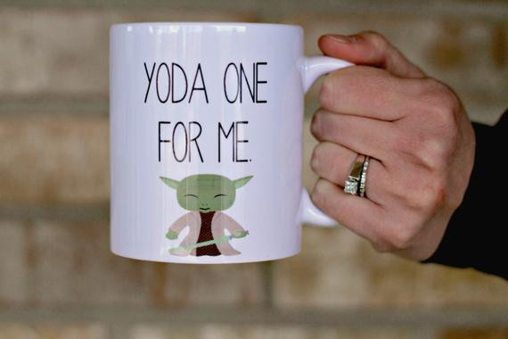 Best ideas about Star Wars Gift Ideas For Him . Save or Pin Yoda Mug Yoda e For Me Mug t for him boyfriend t Now.