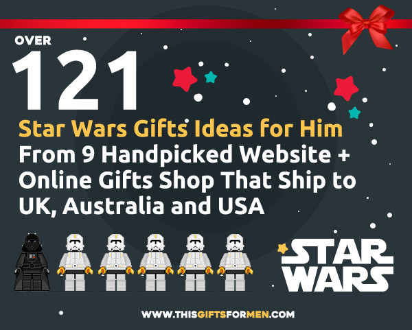 Best ideas about Star Wars Gift Ideas For Him . Save or Pin 23 Best Star Wars Gifts For Him You Got So See 20 Now.