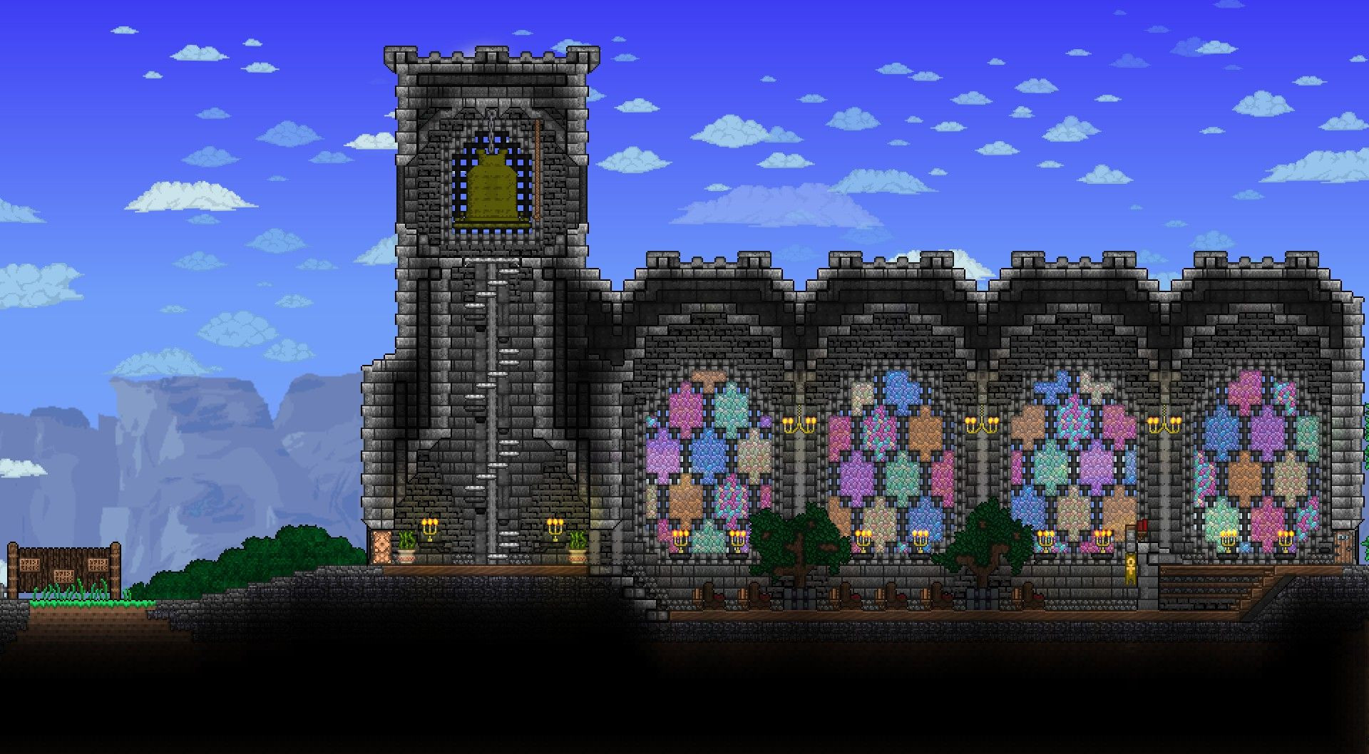 Best ideas about Starbound Spiral Staircase . Save or Pin Church with bell by Khaios Now.