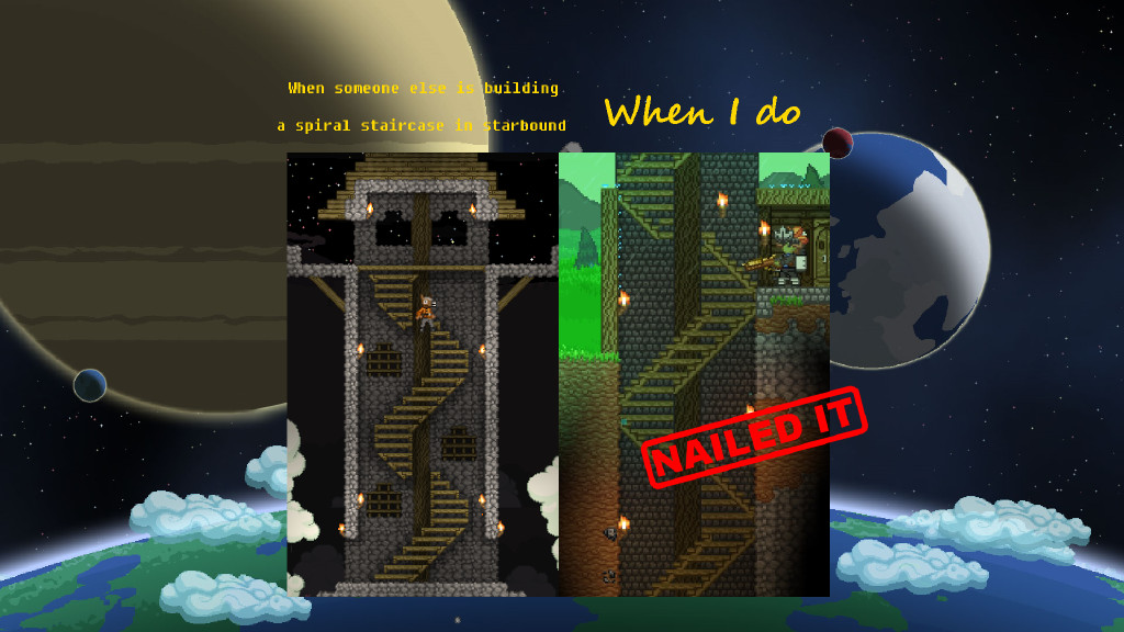 Best ideas about Starbound Spiral Staircase . Save or Pin Steam munity How did they do that Now.