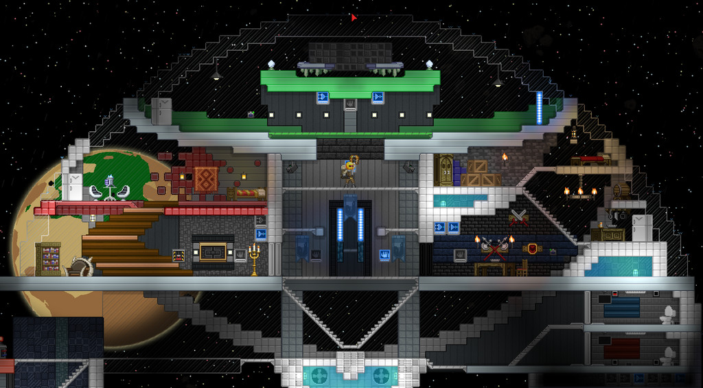 Best ideas about Starbound Spiral Staircase . Save or Pin What s the best way to build a spiral staircase Now.