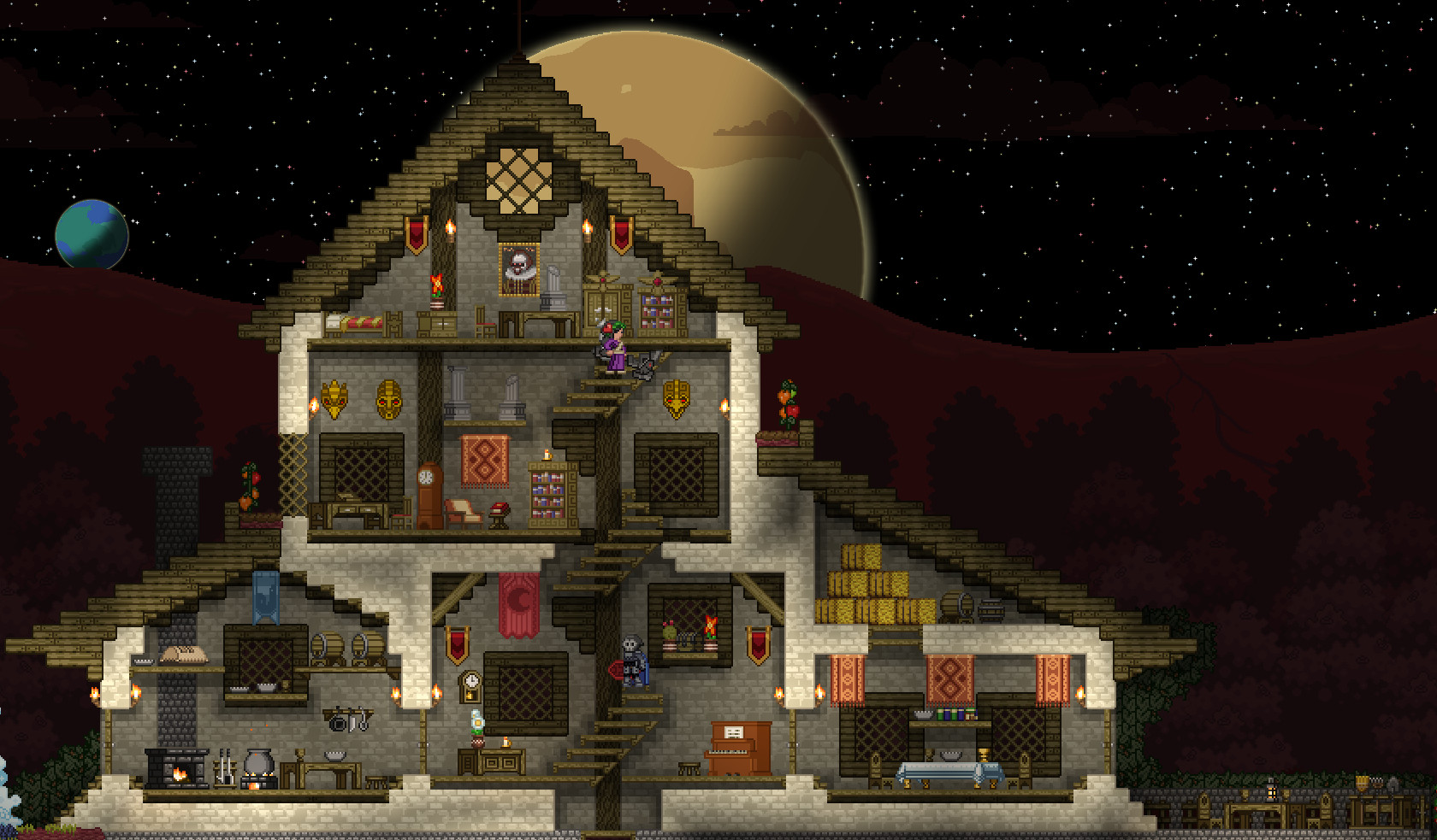 Best ideas about Starbound Spiral Staircase . Save or Pin Building Ship Show off your house D Now.