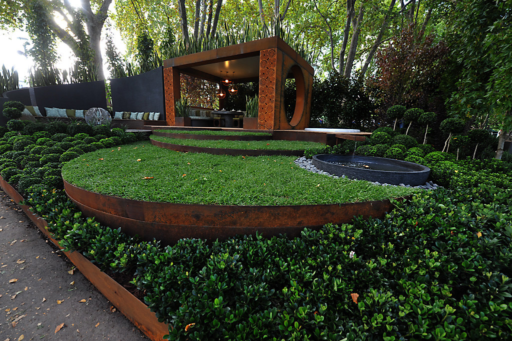 Best ideas about Steel Landscape Edging . Save or Pin Corten Weathering Steel Formboss Metal Garden Edging for Now.
