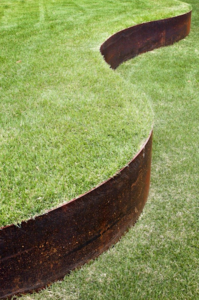 Best ideas about Steel Landscape Edging . Save or Pin Retaining Wall Ideas Now.