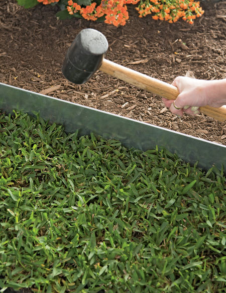 Best ideas about Steel Landscape Edging . Save or Pin Galvanized Steel Landscape Edging 4 ft Set of 4 Now.