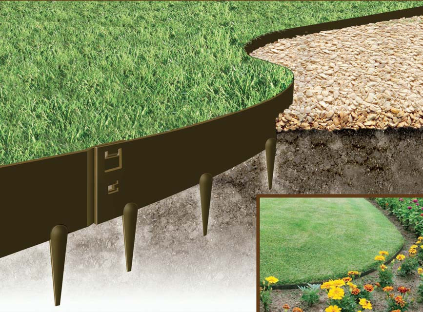 Best ideas about Steel Landscape Edging . Save or Pin Gardens line Flexible Garden Edging Cor Ten Steel Everedge Now.