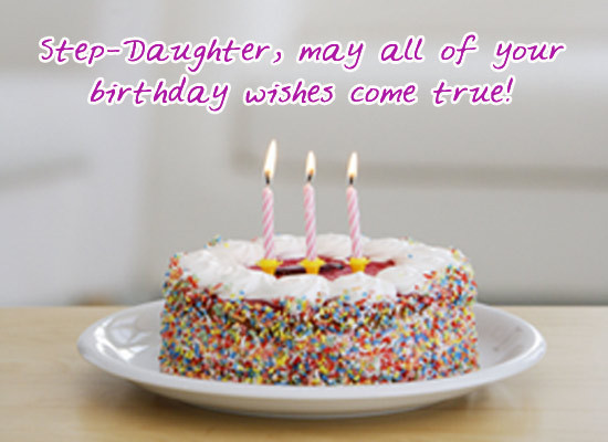 Best ideas about Step Daughter Birthday Wishes . Save or Pin MyFunCards Now.