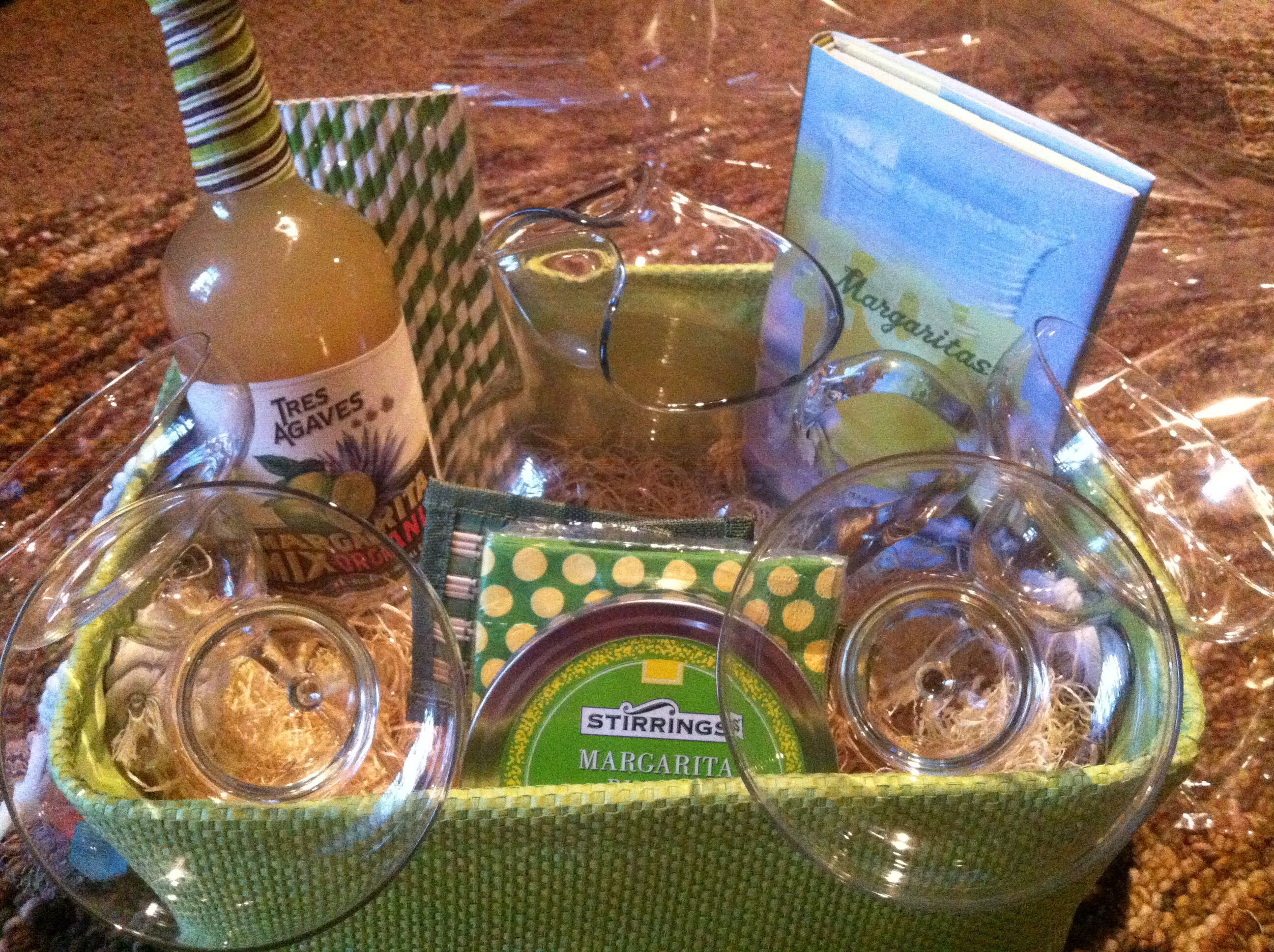 Best ideas about Stock The Bar Gift Ideas . Save or Pin Margarita t basket for a stock the bar bridal shower Now.