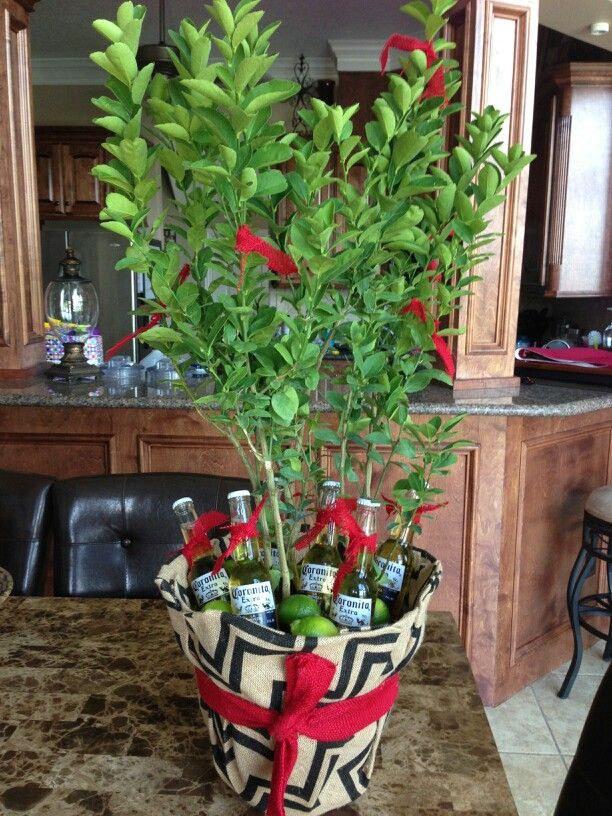 Best ideas about Stock The Bar Gift Ideas . Save or Pin Stock the Bar party t idea Beers and lime tree OR Now.
