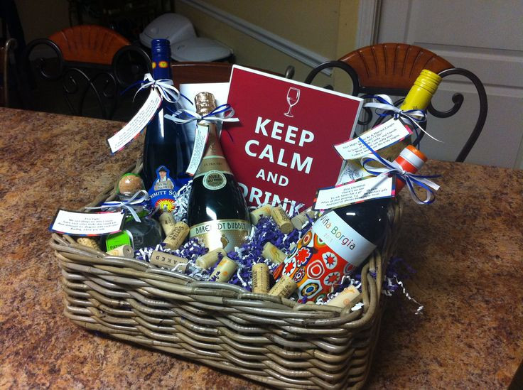 Best ideas about Stock The Bar Gift Ideas . Save or Pin 27 best images about Raffle baskets on Pinterest Now.