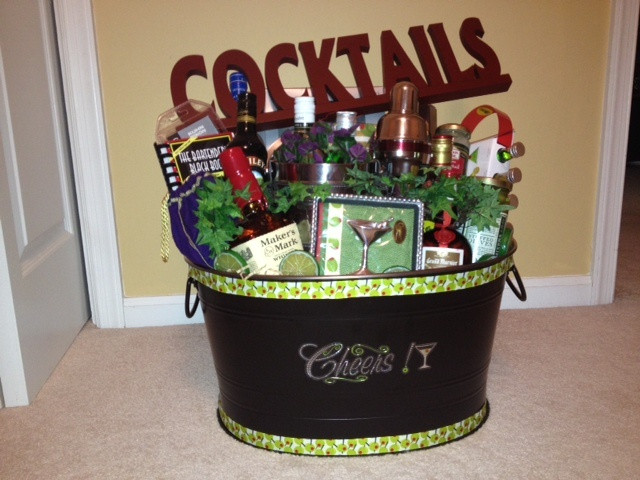 Best ideas about Stock The Bar Gift Ideas . Save or Pin 23 best Raffle Basket Ideas images on Pinterest Now.