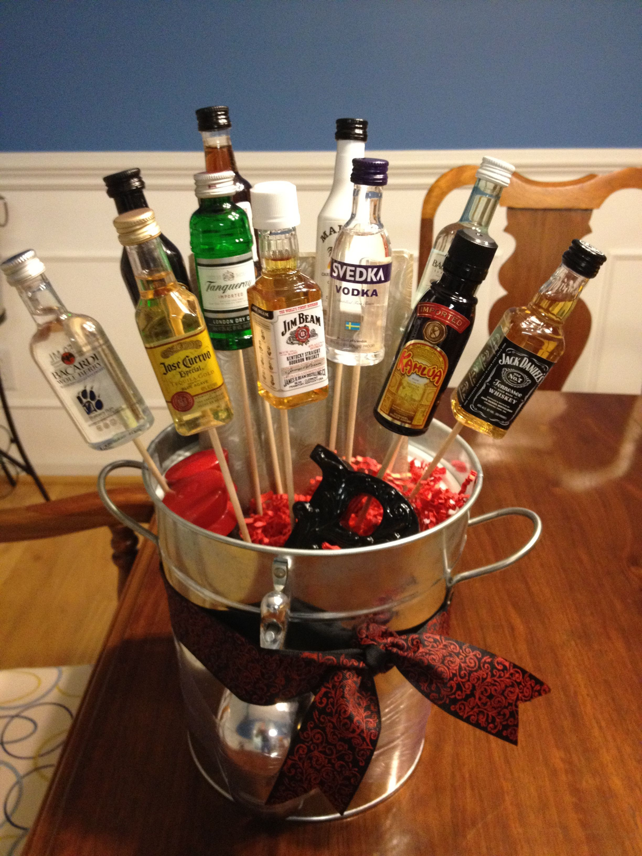 Best ideas about Stock The Bar Gift Ideas . Save or Pin Stock the Bar t Wedding shower ideas for Now.