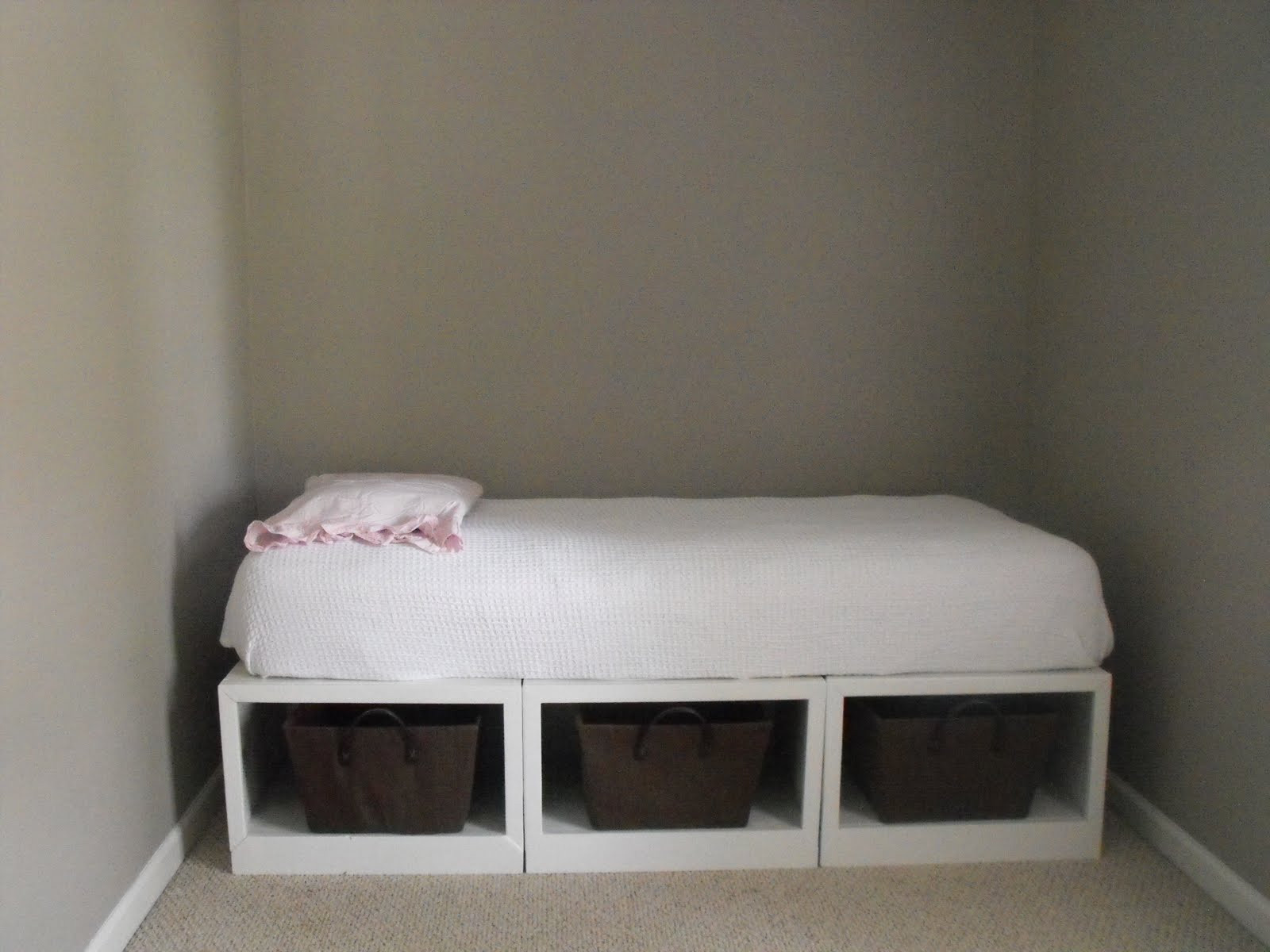 Best ideas about Storage Beds DIY . Save or Pin Susie Harris DIY storage daybed Now.