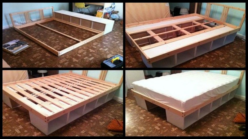 Best ideas about Storage Beds DIY . Save or Pin 10 DIY Storage Bed Ideas Now.