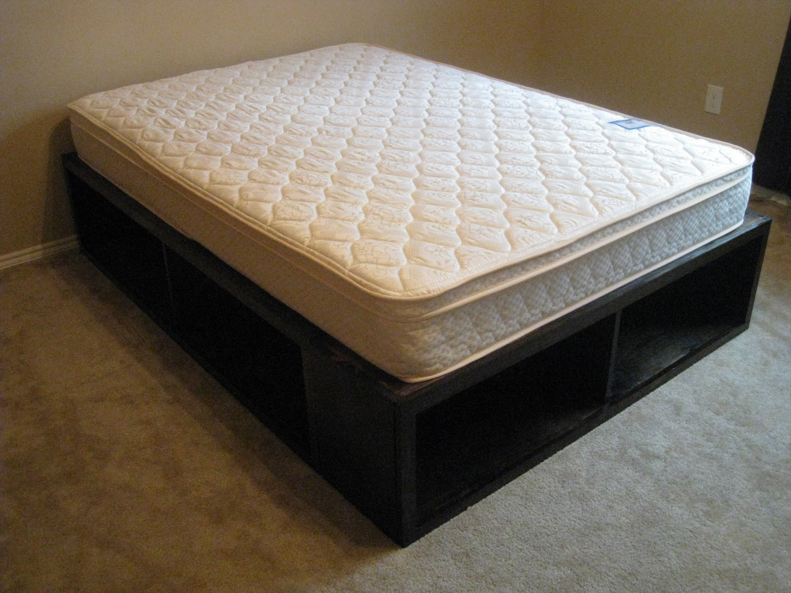 Best ideas about Storage Beds DIY . Save or Pin DIY Full Storage Bed Shanty 2 Chic Now.