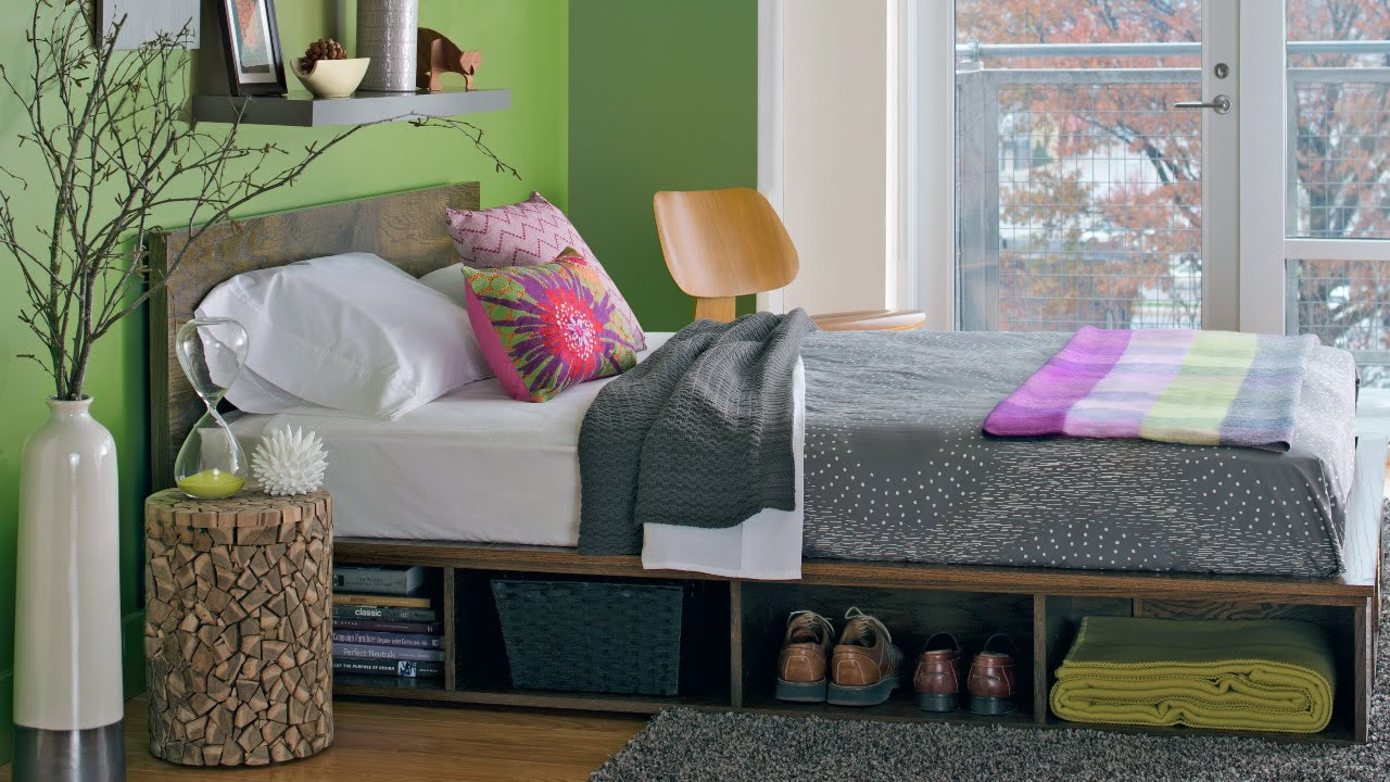 Best ideas about Storage Beds DIY . Save or Pin DIY Platform Bed with Storage Now.