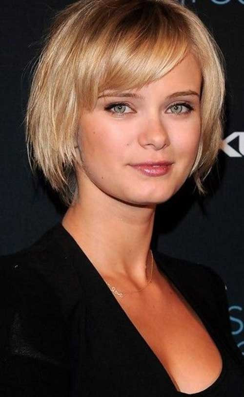 Best ideas about Straight Bob Hairstyles . Save or Pin 15 Short Straight Hairstyles for Round Faces Now.