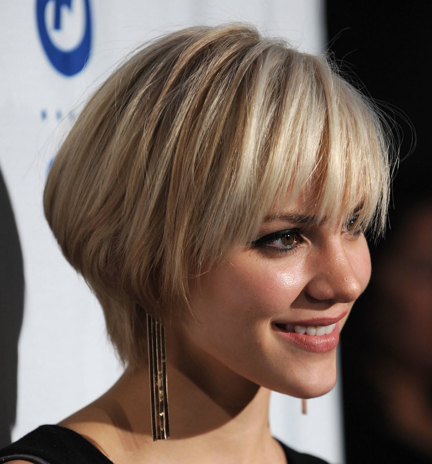 Best ideas about Straight Bob Hairstyles . Save or Pin Short Blonde Straight Bob Hairstyles for prom 2011 Trends Now.
